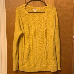 Yellow Mossimo Sweater